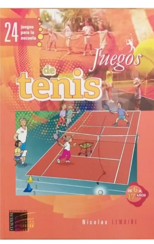 24 Juegos de tenis para la escuela libro