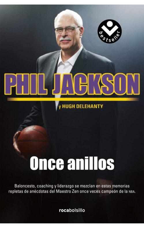 Once anillos libro Phil Jackson