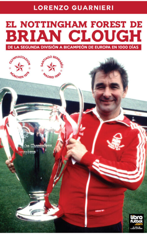 Libro Brian Clough Nottingham Forest