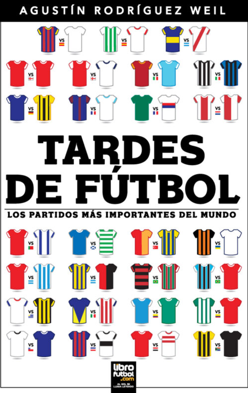 Libro Tardes de fútbol