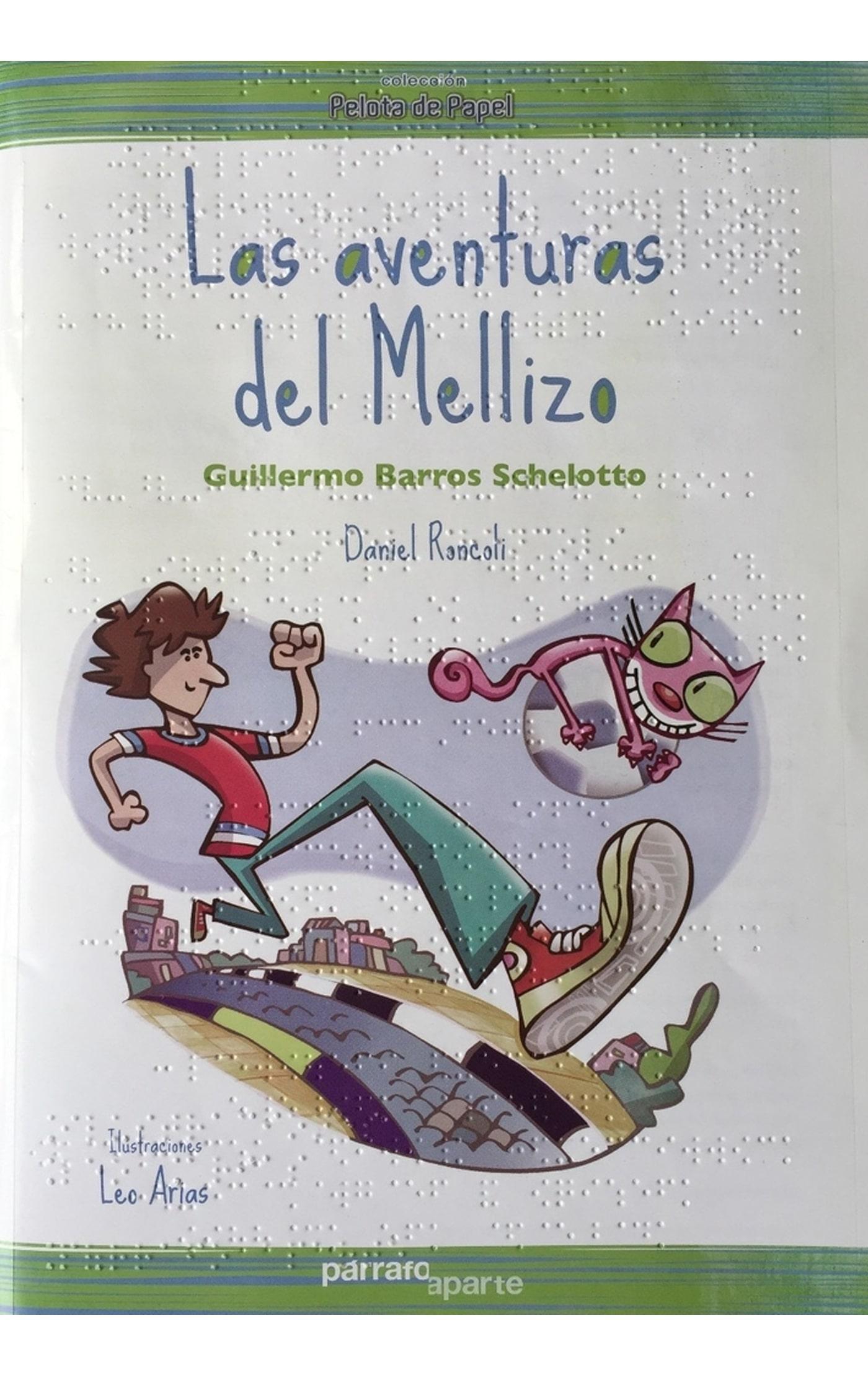 Libro infantil Braille Las Aventuras del Mellizo-min
