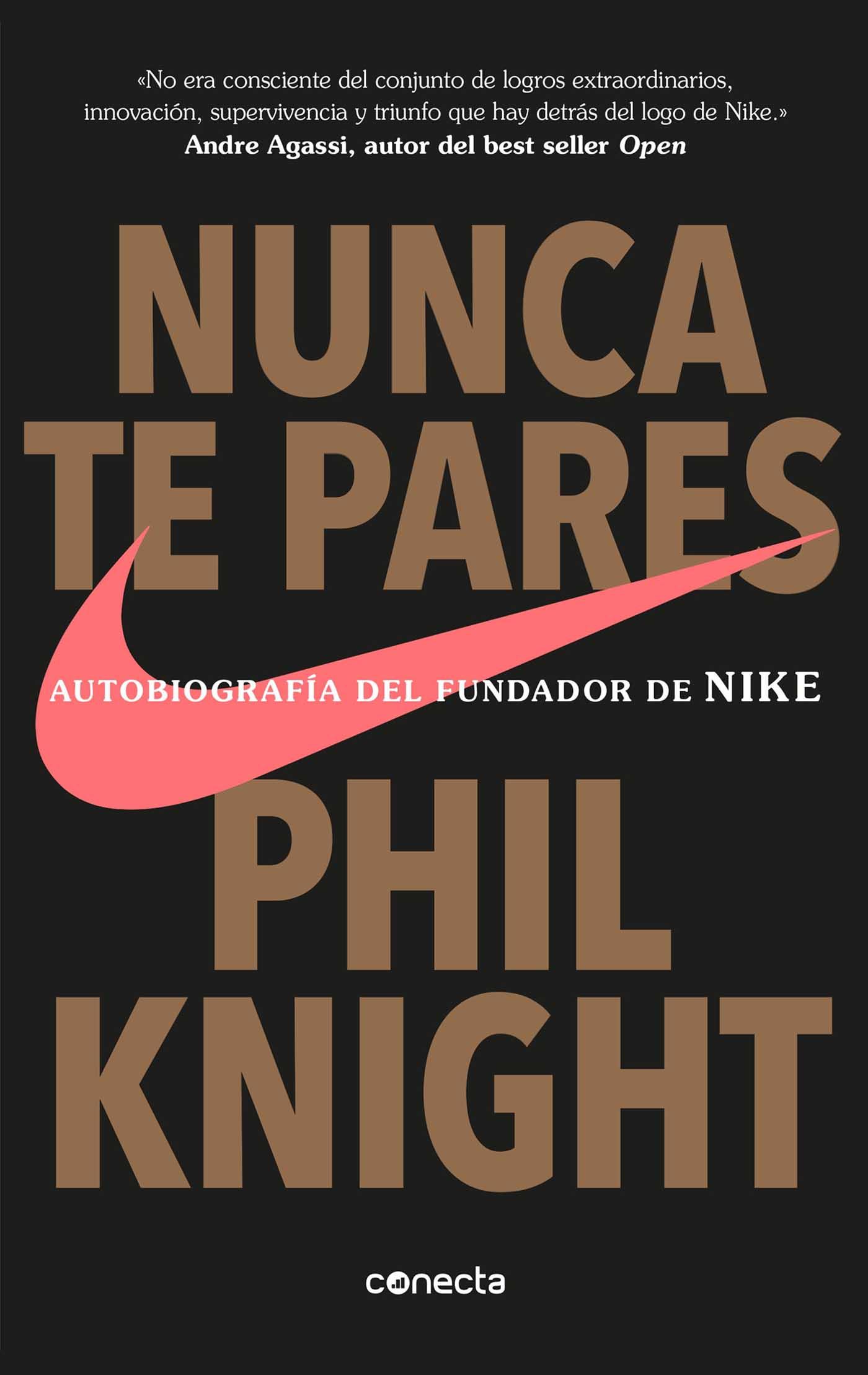 Nunca te pares Libro Nike